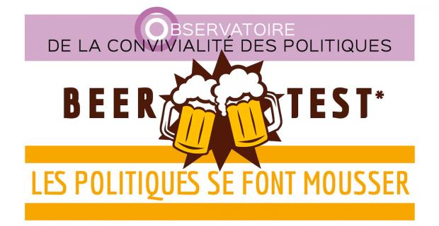L'agence de communication politique CorioLink présente la version Française du sondage politique : le Beer Test