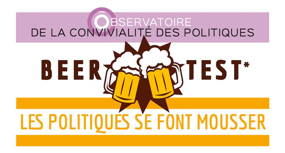 Beer Test : la version française du sondage politique présenté par l'agence de communication CorioLink