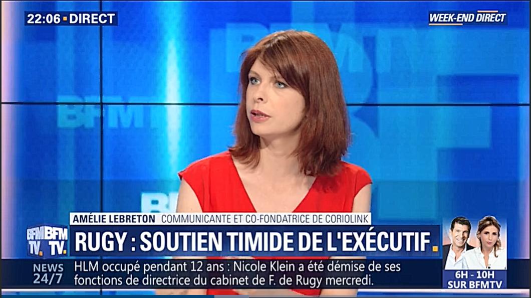 """Amélie Lebreton s'exprime sur la communication politique dans l'affaire """"de Rugy"""""""