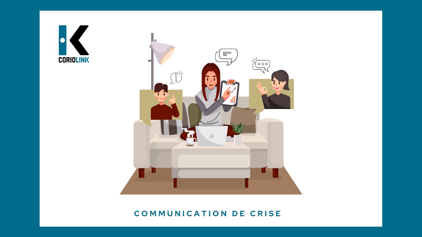 Communication de crise télétravail manager