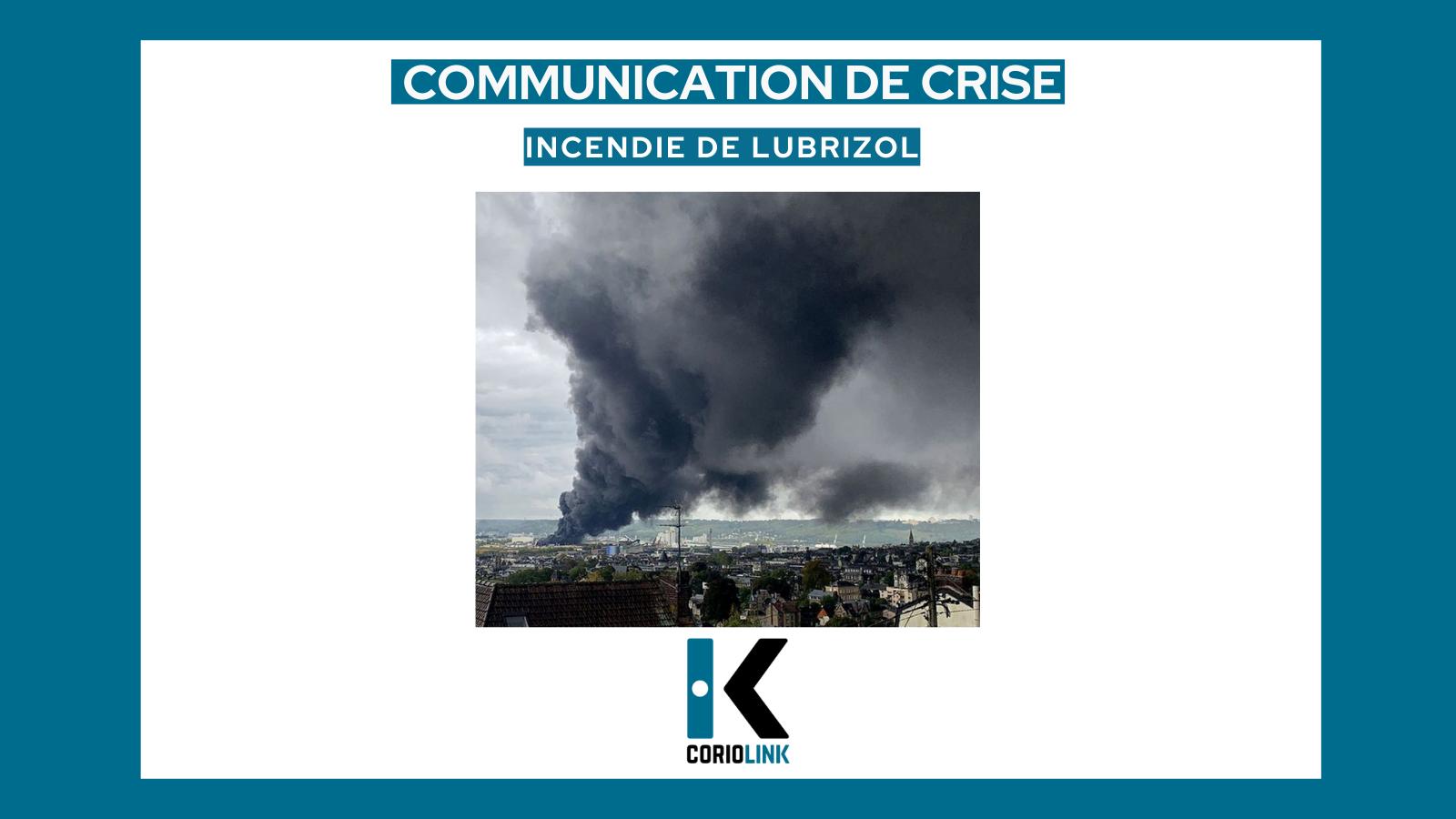 communication de crise - lubrizol